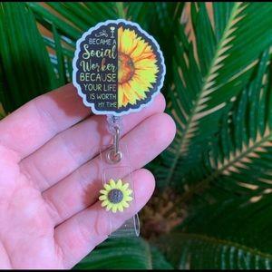 Social Worker Badge Holder
